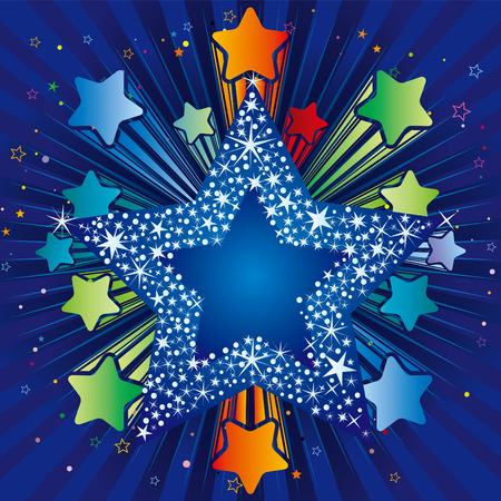 backdrop:  illustration of explosion star