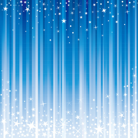 star background: blue light and starry background