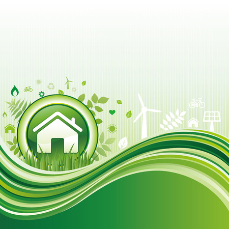 background of environment Vector