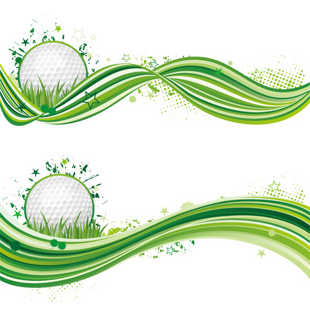 illustration of golf sport Stock Vector - 8230026