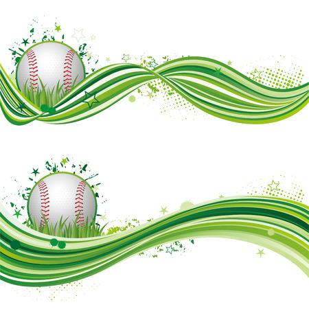 illustration of baseball sport Vector