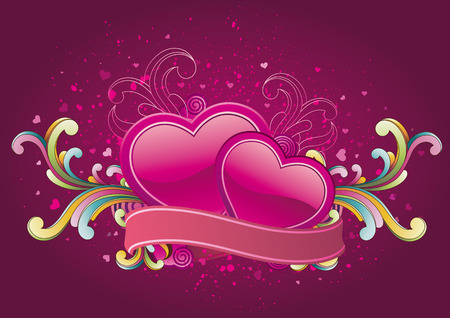 vector illustration of valentines day Vector