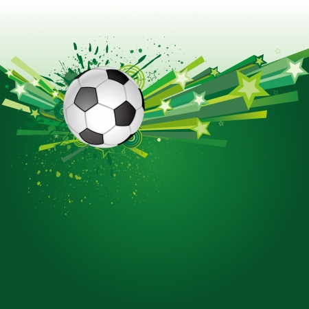 background of soccer sport Vector
