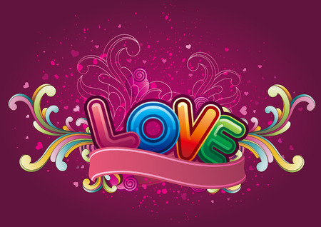 vector background of valentines day Vector