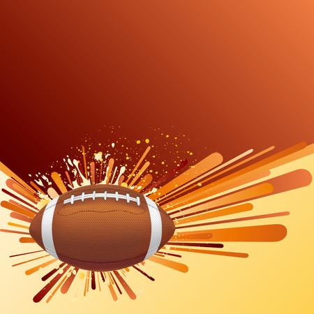vector background of american football Illustration