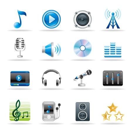 earbud: m�sica y audio vector icono