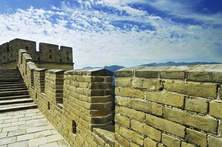 great wall of china Stock Photo - 9757410