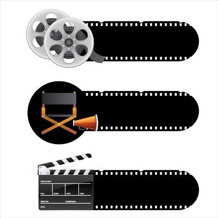 movie themes design element