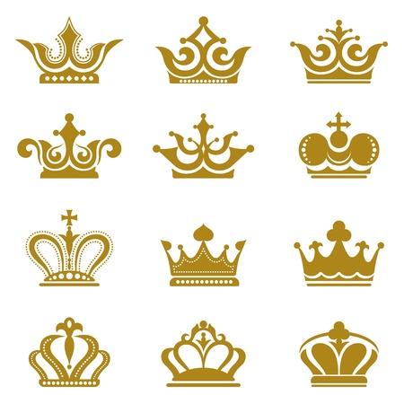 crown silhouette: Collezione Corona