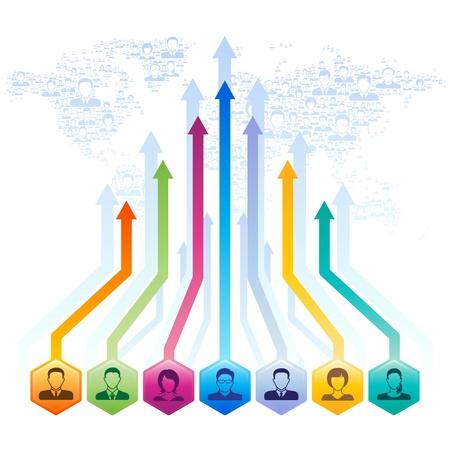 social media concept: Social media concept,vector illustration