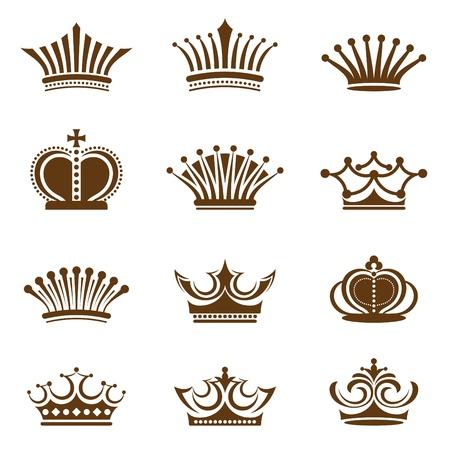corona de rey: Colección de la corona