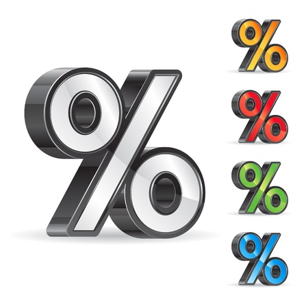 percent sign Vector