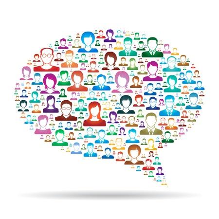 foules: Concept de communication