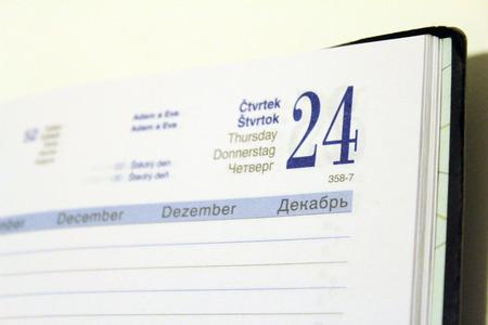 in december: diary December 24