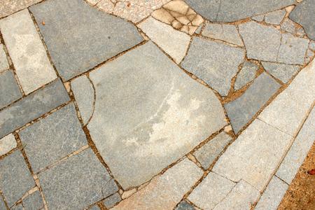 stone path: Paving stone path