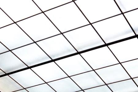detai: Glass ceiling