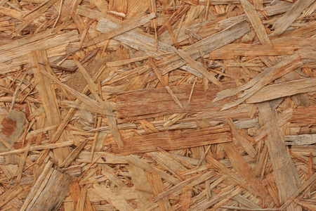 oriented: Texture close-up oriented strand board Stock Photo