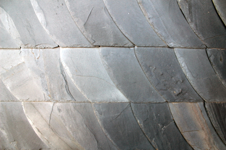 slate roof: Slate roof structure