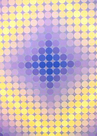 optical: Optical Illusion Mosaic