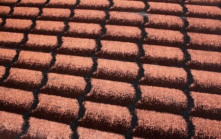 tar felt: detail roofing