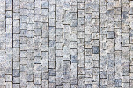 Graniet kasseien bestrating achtergrond