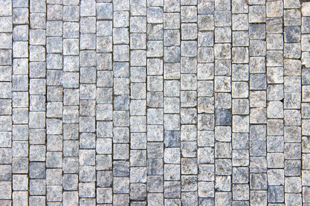 Granite cobblestoned pavement background photo