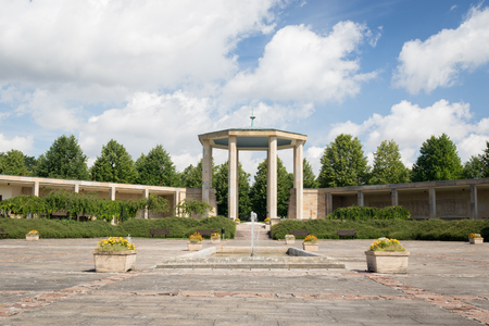 Lidice memorial, Czech Republic - in memory of Lidice village that was destroyed by Nazis in on 10 June 1942