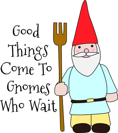 Talk about a gnome for your garden here is a champ.  We love this super cute gnome because he is so simple to stitch and just perfect for that special touch! Ilustracja
