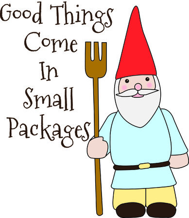 so that: Talk about a gnome for your garden here is a champ.  We love this super cute gnome because he is so simple to stitch and just perfect for that special touch! Illustration