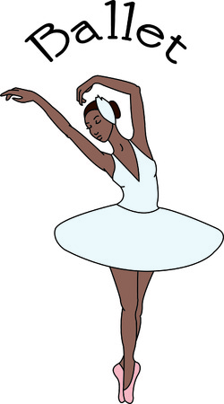 performers: This beautiful ballerina brings culture and grace to your project.  We suggest her for a special ballet bag for your ballerina.