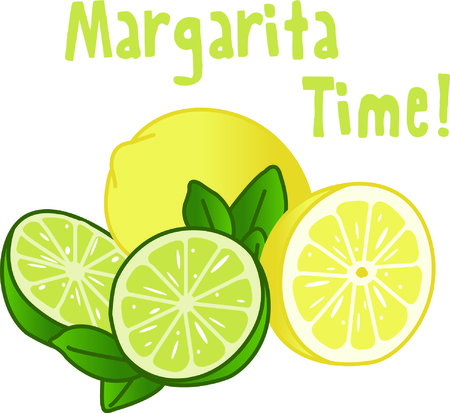 adds: The tart and tangy flavors or lemon and lime add just the right taste.  This pretty design adds just the right zing.