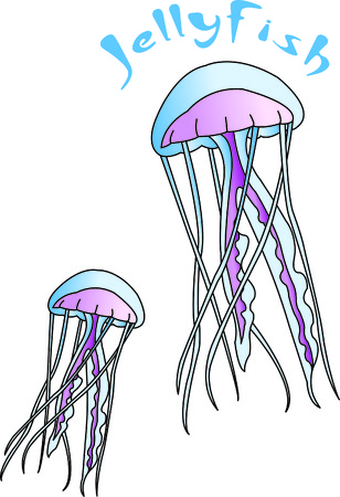 Jelly fish are a visually interesting sea creature.  Stitch them onto your projects and create a something completely unique and quite interesting!