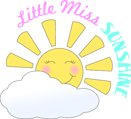Good morning sunshine.  Greet the day with this sweet and happy sun rise.  Great design for countless projects. 向量圖像