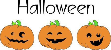 jack o: Create a fun border of smiling jack o lanterns.  What a fun twist to Halloween fun!