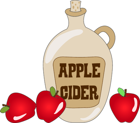 A taste treat in a bottle - apple cider a warm treat for cool weather.  Stitch it up on your fall projects for a warm and cozy feel.