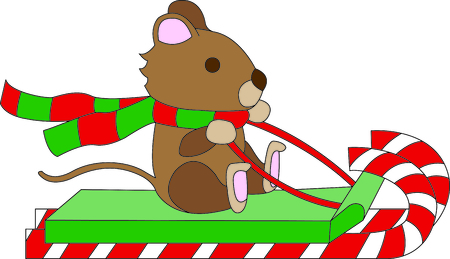 stuffed animal: May your days be merry and bright.  Include this design with your Christmas party decorating. Everyone will love it!