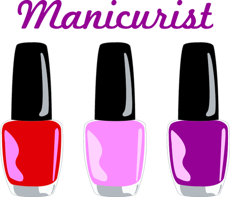 manicurist: You entrust your hair to your stylist.  This design is perfect for thanking them! They will love it!