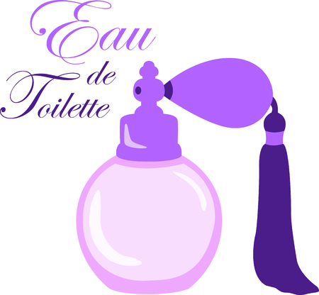 eau de toilette: You entrust your hair to your stylist.  This design is perfect for thanking them! They will love it!
