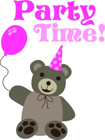 このクマを一年中彼女の誕生日を覚えていて女の子に与えます。 彼女はそれを愛する!