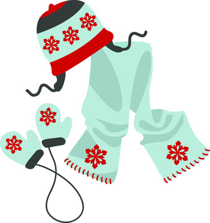 scarves: A knitted sweater made by grandmas love makes winter so much warmer.  Let grandma know she is appreciated.  She will love it! Illustration
