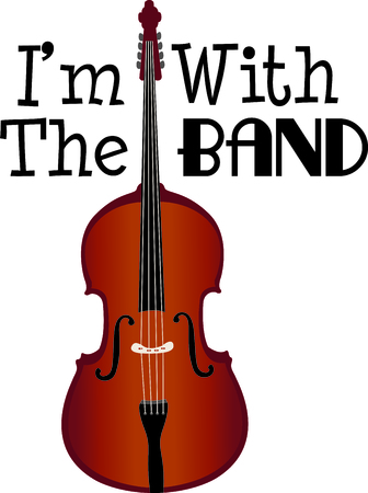 bass player: This design is perfect for a gift for a bass player.  They will love it! Illustration