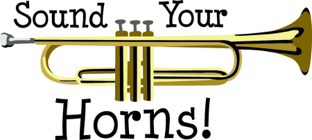 trumpet player: This design is perfect for a gift for a trumpet player.  They will love it!