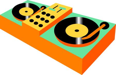 이 디자인은 DJ에게 선물로 적합합니다. 그들은 그것을 좋아할 것이다!