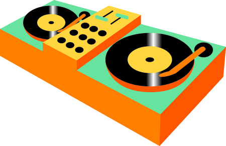 This design is perfect for a gift for a dj.  They will love it!