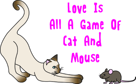 so that: These unlikely friends play a game of cat and mouse.   A fun scene in stitches that you can use so many places that might need just a touch of fun!