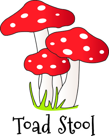 stitching: Chic polka dot mushrooms are absolutely stunning.  These pretty toadstools are a lovely way to dress up your stitching.