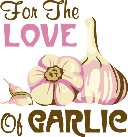 garlic clove: This is perfect for gardeners who enjoy working in the yard so everyone will enjoy their vegetables.  They will love it!