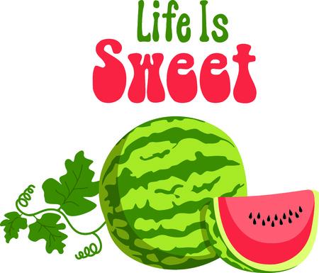 Dit is perfect voor tuinders die genieten van het werken in de tuin, zodat iedereen zal genieten van de watermeloenen. Zij zullen love it! Stockfoto - 43680374