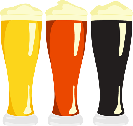 variety: Make your own brew and use this image for your design for your bottles Illustration
