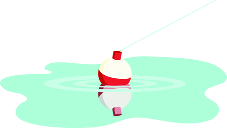 Vacationing at the bay is lots of fun.  Take this fishing design to remember it always. 向量圖像
